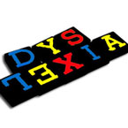 dyslexia, spelt with letter blocks